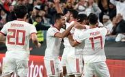 پست مشترک ملی پوشان فوتبال بعد از دیدار با عمان + عکس