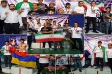 تیم موی تای ایلام قهرمان مسابقات بین المللی ارمنستان شد