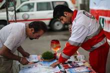 65 هزار گردشگر و مسافر از خدمات هلال احمر استان بوشهر برخوردار شدند