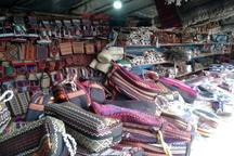 برپایی ۱۱۰ غرفه عرضه محصولات صنایع دستی و سوغات نوروزی در رضوانشهر