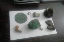 کشف و ضبط 9 قلم شیء تاریخی از حفاران غیرمجاز در لرستان