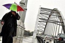 بارش پراکنده در خوزستان
