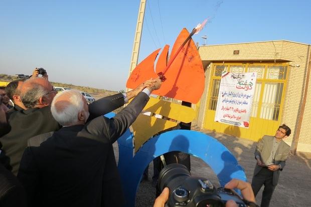 ایستگاه بزرگ گاز رسانی در نابین افتتاح شد