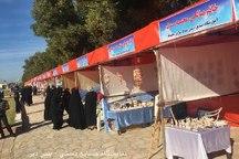 نمایشگاه صنایع دستی در دیر بوشهر گشایش یافت