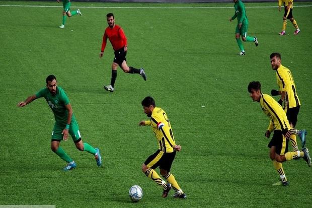 تیم فوتبال موکریان مهاباد اولین پیروزی خود را جشن گرفت