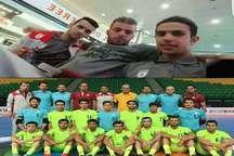 سه بازیکن قزوینی همراه با تیم ملی فوتسال زیر 20 سال قهرمان آسیا شدند