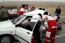 حوادث رانندگی در جاده های بروجرد 6 مصدوم داشت