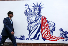 تحلیل فارین پالیسی از دیوارنگارههای ضدآمریکایی در تهران