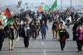 هدایت زائران اربعین از جاده پلدختر به سمت خوزستان به دلیل بدی آب و هوا