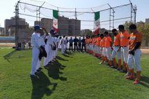 مسابقات بیسبال کشور در مشهد آغاز شد
