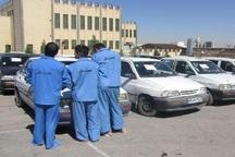 4 دستگاه خودرو مسروقه در مهاباد کشف شد