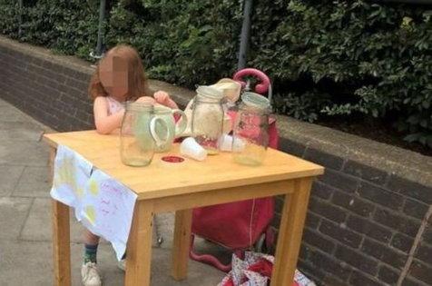 دهها پیشنهاد کار برای دختربچهای که به خاطر فروش لیموناد جریمه شد