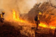 آتش سوزی مرگبار در پرتغال و اسپانیا+ تصاویر