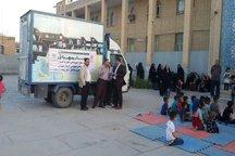 کتابخانه های سیار استان تهران در خوزستان مستقر شدند