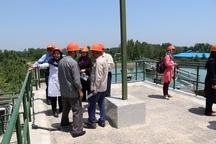 بازدید جمعی از مدیران مجتمع های مسکونی شهر رشت از تصفیه خانه بزرگ آب گیلان