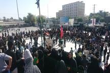 مردم هرمزگان در اربعین حسینی به سوگ نشستند