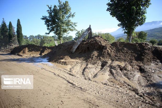 سیل به راههای شرق مازندران ۶۰ میلیارد ریال خسارت زد