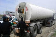 33 هزار لیتر سوخت قاچاق در بیجار کشف شد