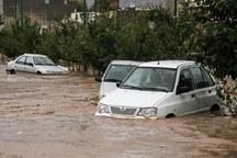 سیلاب در اشتهارد 2 مصدوم داشت
