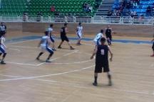 تیم بسکتبال جوانان رشت برابر تهران به برتری رسید