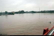 8 روستای آق قلا در محاصره سیلاب است