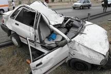 خواب آلودگی مرگ راننده خودرو را در زنجان رقم زد
