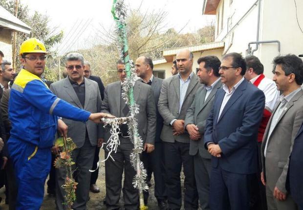 گازرسانی به روستاهای غرب مازندران بدون توجه به تحریم ها