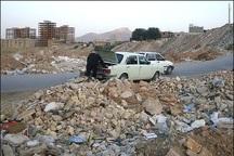تخلیه نخاله های ساختمانی جنوب تهران باید مدیریت شود