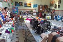 نمایشگاه توانمندی های معلولان ذهنی در مهاباد گشایش یافت