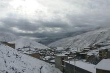 برف و سرما اردبیل را در بر گرفت