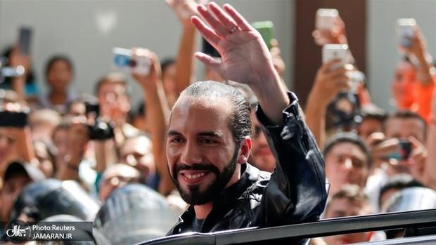 عکس/ پیروزی یک فلسطینی تبار در انتخابات السالوادور