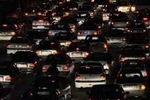 ترافیک سنگین شبانه در آزادراه های استان البرز