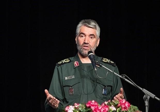 سردار فضلی: دشمنان آرمانهای انقلاب را هدف قرار داده اند