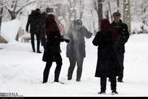 حاشیه های برفی یک نشاط اجتماعی