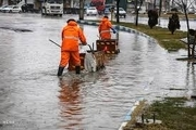 بکارگیری ۲۱۳ دستگاه ماشینآلات خدمات شهری در پی بارشهای باران در مشهد