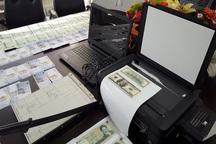 جاعلان حرفهای اسکناس در مهاباد دستگیر شدند