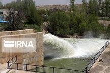 رهاسازی ۹۳ میلیون متر مکعب آب سد مهاباد برای مصارف کشاورزی