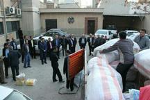محموله کمک های کارکنان مخابرات خراسان شمالی به مناطق زلزله زده ارسال شد