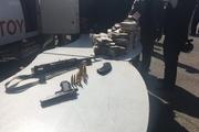 سارقان ماشین حمل پول بانک پاسارگارد دستگیر شدند