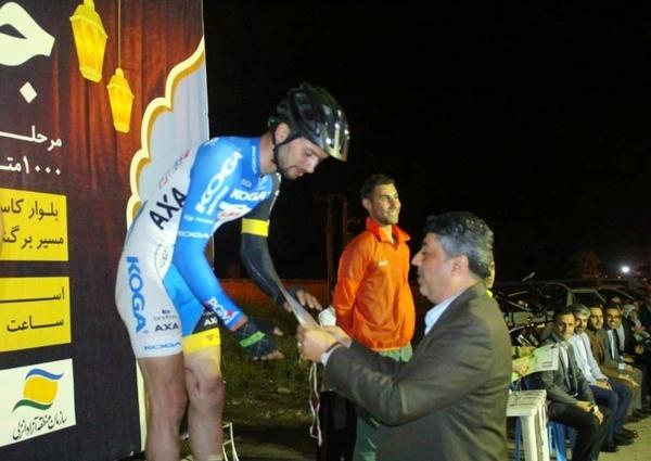 نخستین مرحله لیگ دوچرخهسواری سرعت گیلان برگزار شد