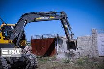 ۲۵ مورد ساخت و ساز غیرمجاز در ملارد تخریب شد