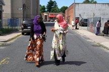 عکس/ یک زن مسلمان برای انتخابات آمریکا کاندید شد
