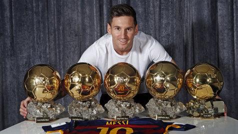 مسی در انتظار ششمین توپ طلای جهان +کاندیداهای Ballon d'Or