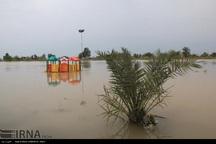 غرب خوزستان در تب و تاب سیلاب