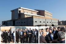 استاندار مازندران از بیمارستان در حال احداث بهشهر بازدید کرد
