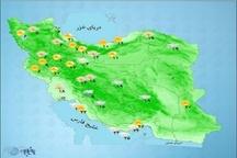 اصفهان پایان هفته بارانی میشود کاهش سه درجهای دما