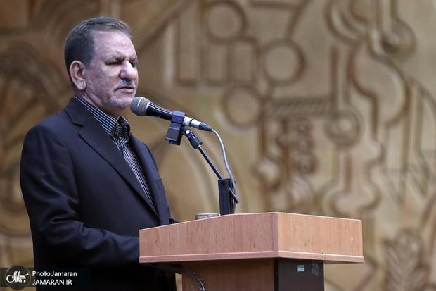 جهانگیری: باید با مردم درباره مشکلات صادقانه گفتگو کرد/ ایجاد شکاف طبقاتی و دوگانگی در جامعه از اهداف تحریم کنندگان ایران است