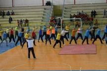 همایش ورزش همگانی در الوند برگزار شد