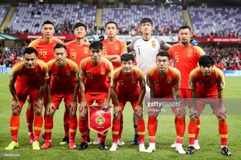 اعلام ترکیب تیم ملی چین برابر ایران