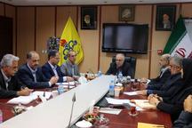 دیدار مسئولان سازمان فنی و حرفهای با مدیرعامل گاز گیلان